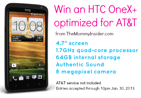 Win an HTC OneX+ optimized for AT&T