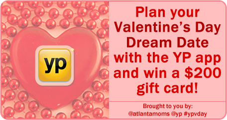 Plan your Valentine's Day Dream Date with the YP app and Win a $200 Gift Card!