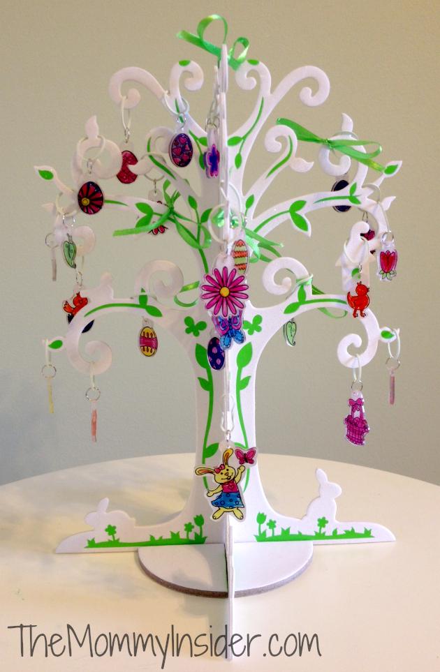 Chasing Fireflies Shrinky Dinks Easter Tree craft project