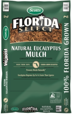 Scotts Florida Select Mulch Helps Your Yard Spring Forward!