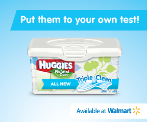 Clean Up Your Baby's 'Messes' With Huggies New Durable, Soft Wipes Featuring New Triple Clean Layers Technology