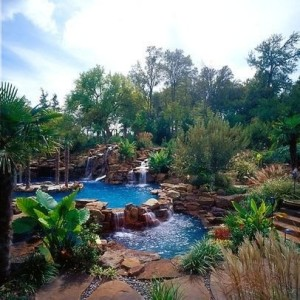 Another inspirational pool landscape