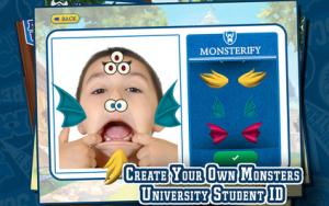 NEW Monsters University app