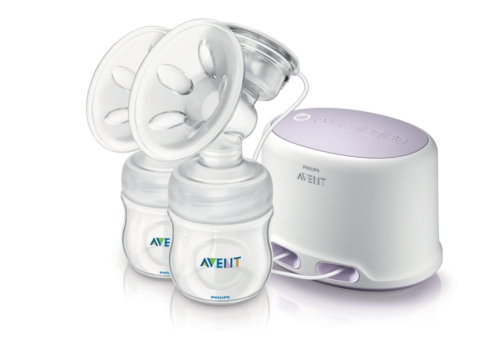 Giveaway + Review: New Philips AVENT Comfort Double Electric Breast Pump