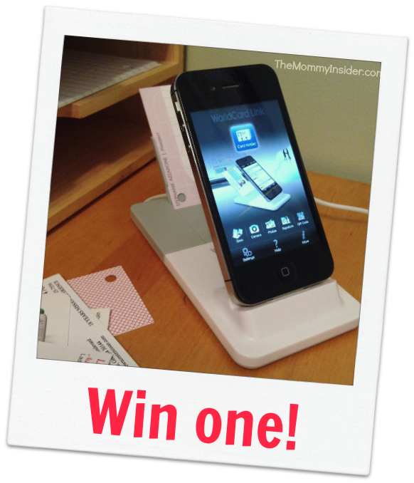 win an iphone business card reader