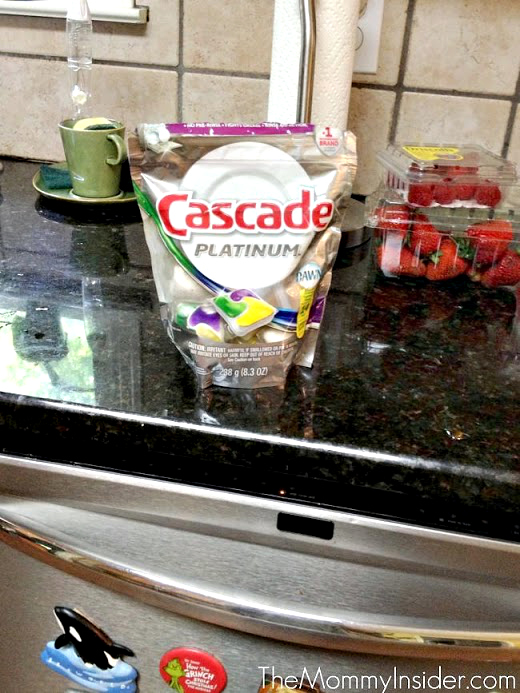 Cascade Platinum Pacs dishwasher detergent review