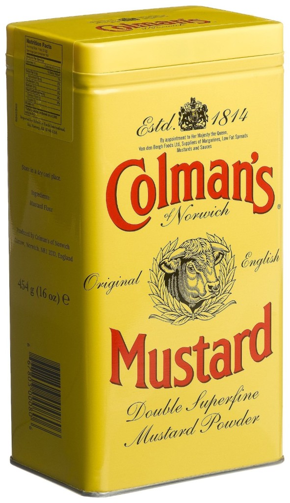 Use Coleman's Dry Mustard and add some spice to your salad!