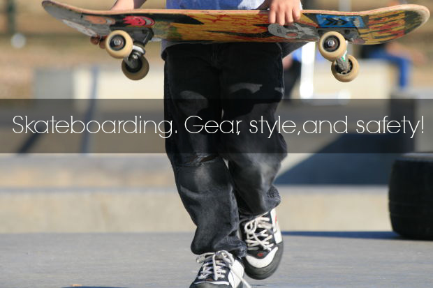 Skateboarding gear and safety