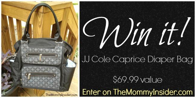 Win a JJ Cole Caprice Diaper Bag