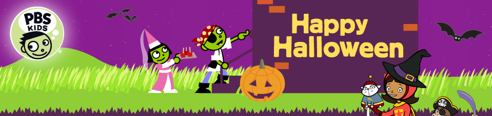 PBS Kids Halloween Programming / Specials From A-Z
