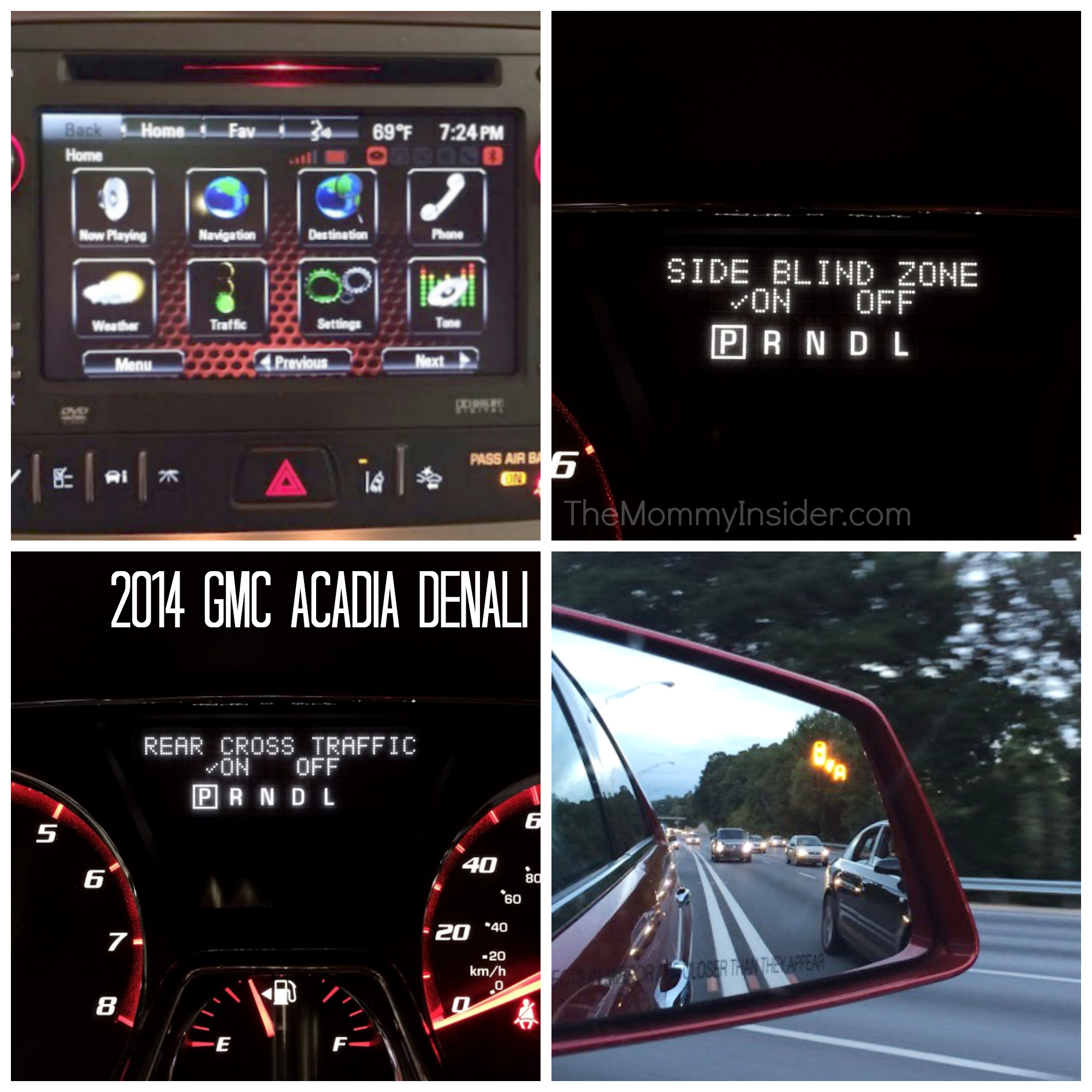 Car Review 2014 Gmc Acadia Crossover Suv Denali Trim