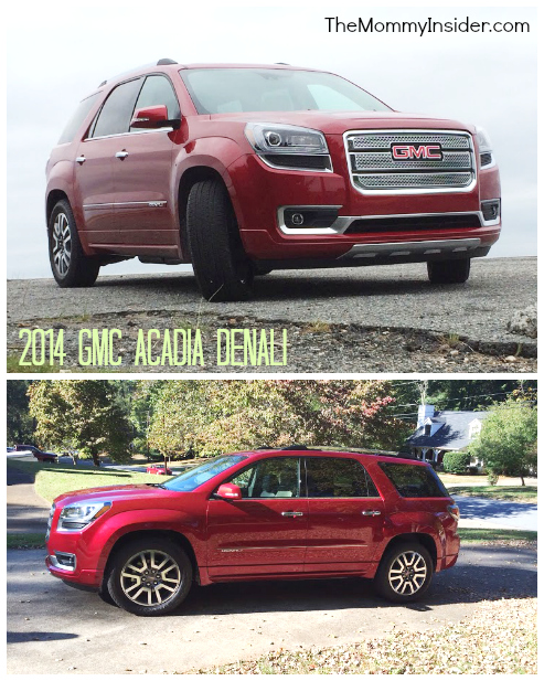Car Review: 2014 GMC Acadia Crossover SUV - Denali Trim