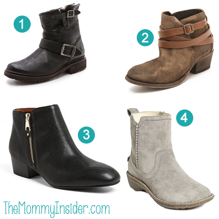 Fashion Love: 4 Favorite Booties For Fall/Winter