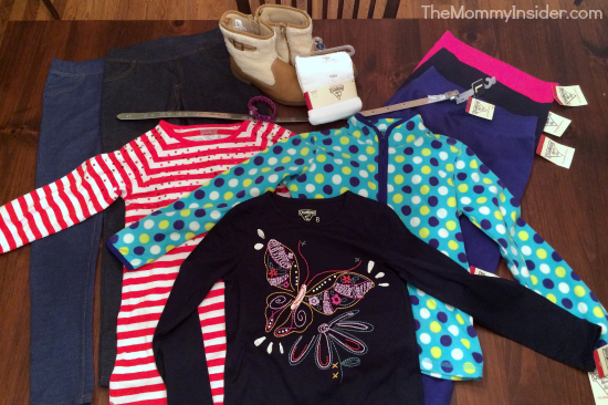 OshKosh B'gosh shopping spree