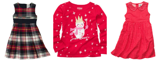 OshKosh B'gosh holiday clothes