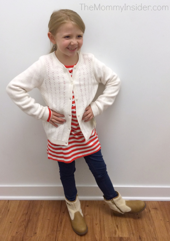 A 7-Year-Old Girl's Dream Shopping Trip at OshKosh B'gosh + 25% Coupon!