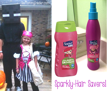 How Suave Saved My Daughter's Hair From Being Perma-Sparkly