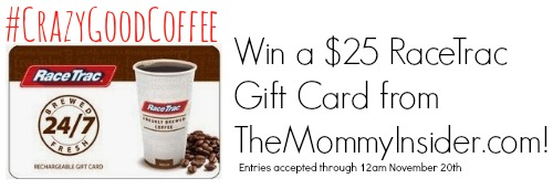Win $25 RaceTrac gift card
