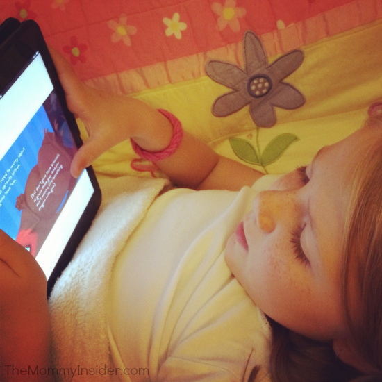 Madelyn Loves Reading Thanks to iPad App Bookboard