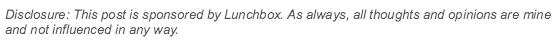 lunchbox disclosure