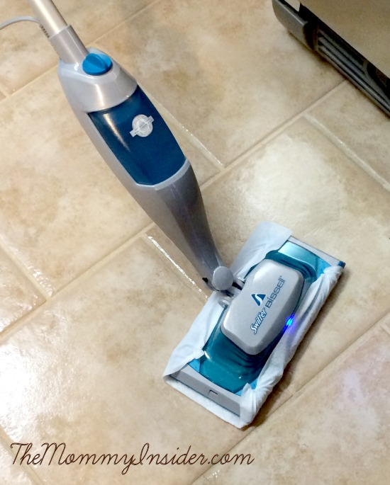 5 Pre-Holiday Cleaning Tips + A Review of Swiffer SteamBoost Steam Mop