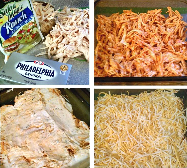 Super Bowl Sunday Appetizer Ideas - Buffalo Chicken Dip