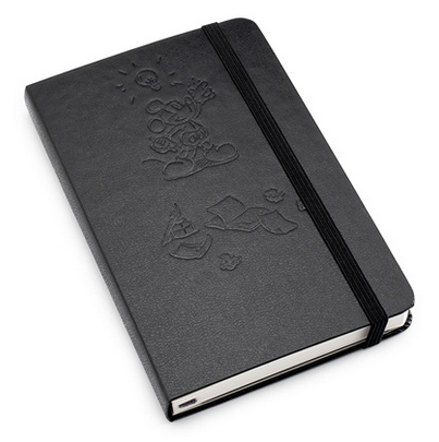 Planning A Trip To Disney?  Keep Track Of Your Disney To-Do List In This Moleskine Mickey Mouse Notebook