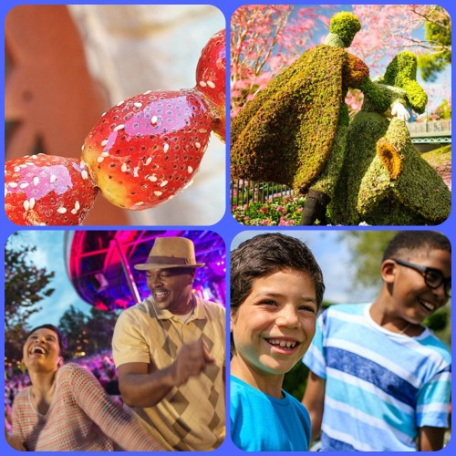 Epcot® International Flower & Garden Festival Presented by HGTV March 5th - May 18th