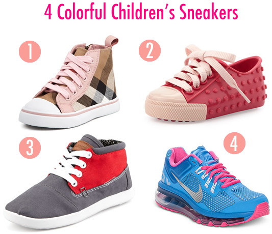 4 Children's Sneakers That Will Add Color To Your Child's Step