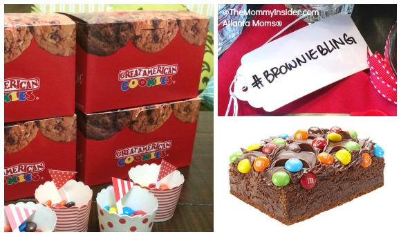 Great American Cookies Introduces The New Fudge Brownie Made With M&M's®!