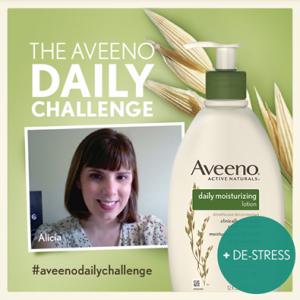 Alicia Hagan - Aveeno Daily Challenge