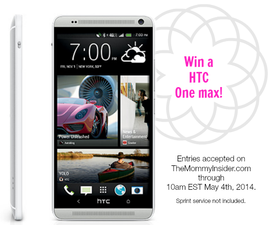 I Am A Sprint Ambassador! Let's Celebrate With An HTC One Max Giveaway!