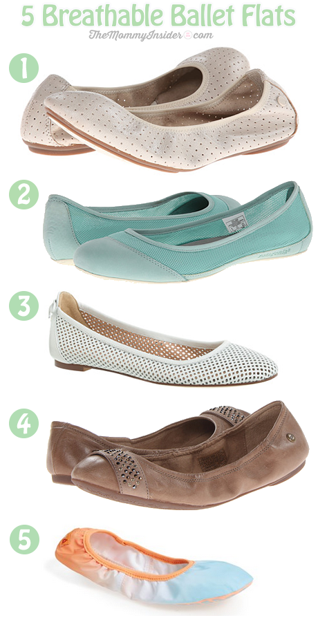 Keep Your Feet Cool and Cute In These 5 Breathable Ballet Flats