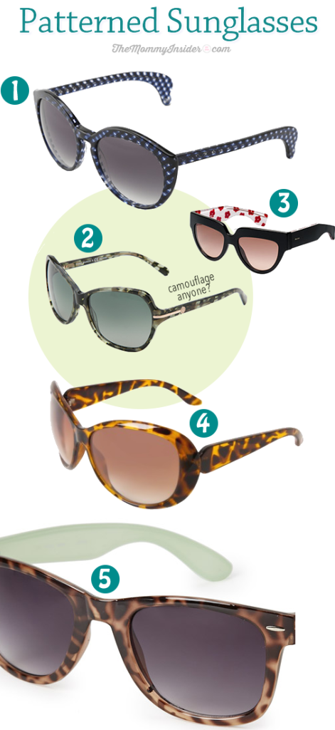 Spice Up Your Summer Style With These 5 Patterned Sunglasses