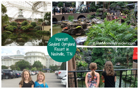 Marriott Gaylord Opryland Resort in Nashville, TV