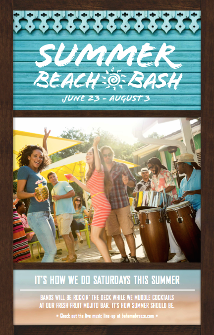 Post image for Bahama Breeze is the summer destination for good times! + A chance to win a $25 gift card!