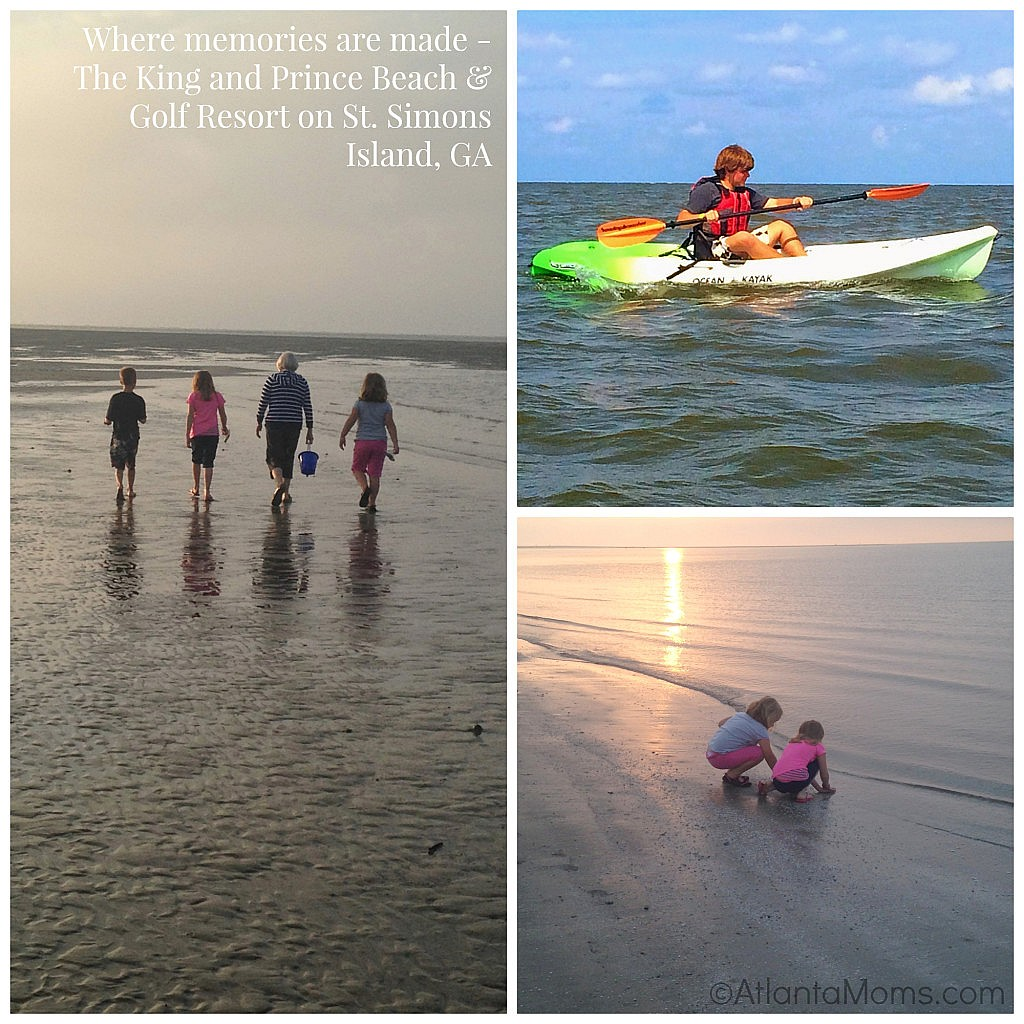 St. Simons Island beach - kayak and bike rentals