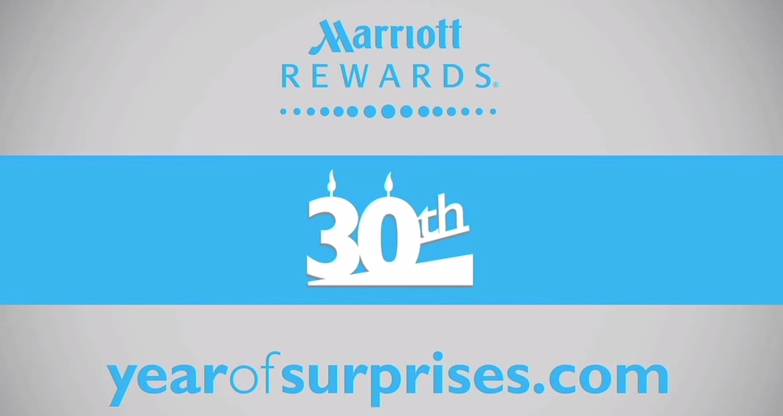 Marriott Rewards Final 'Year of Surprises' Nomination Period - Nominate Someone For a Surprise Party!