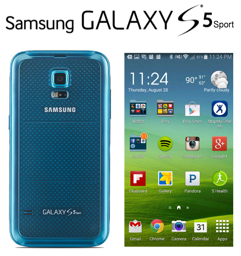 Samsung Galaxy S 5 Sport Review