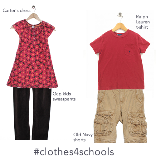 Shopping for clothes for your kids at Schoola.com helps fund art & music programs at schools