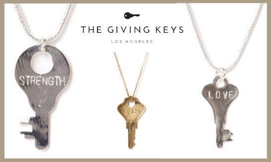 The Giving Keys: Wearable & Sharable Perfect Imperfection