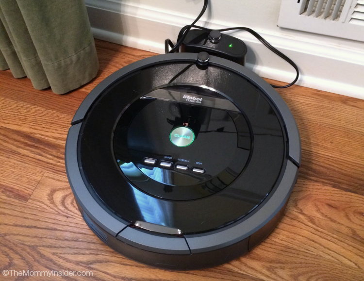 The iRobot Roomba 880 Vacuum Cleaning Robot Sucks Pet Hair and Dirt Away!