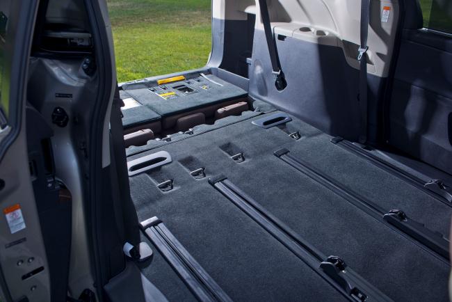 2015 Toyota Sienna Cargo space
