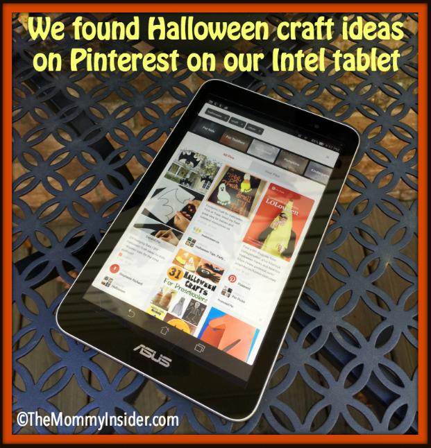 Pinterest Google Play app on Intel Tablet
