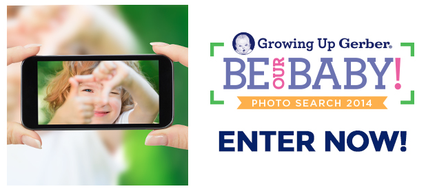 Gerber Be Our Baby Photo Search 2014