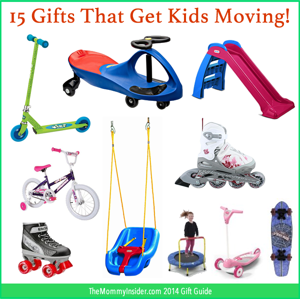 Gift Guide: Gifts that get kids moving