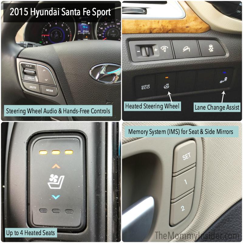 Hyundai Santa Fe Features