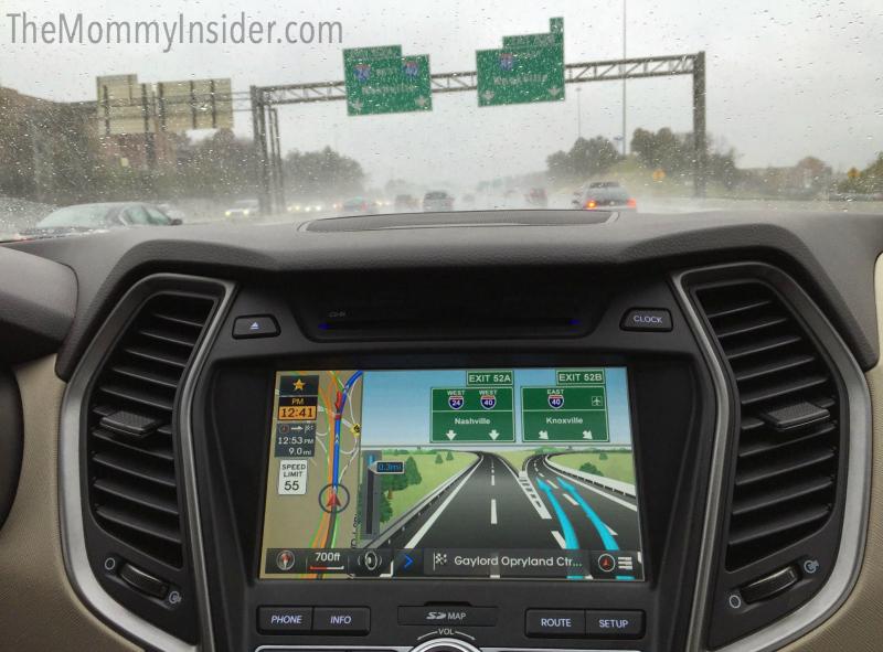 Hyundai Santa Fe Sport 2015 Navigation System