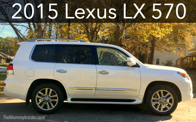 Test Drive + Car Review: 2015 Lexus LX 570 SUV