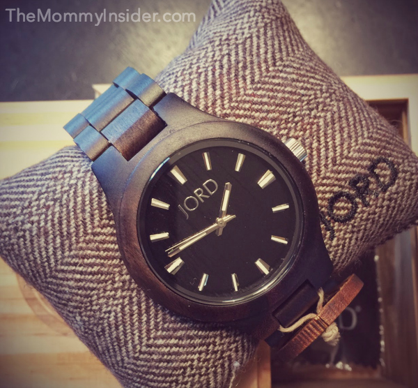 JORD Fieldcrest Wood Watch